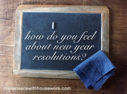 how do you feel about new year resolutions